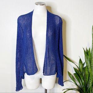 Eileen Fisher | Loose Knit Open Cardigan Sz. S